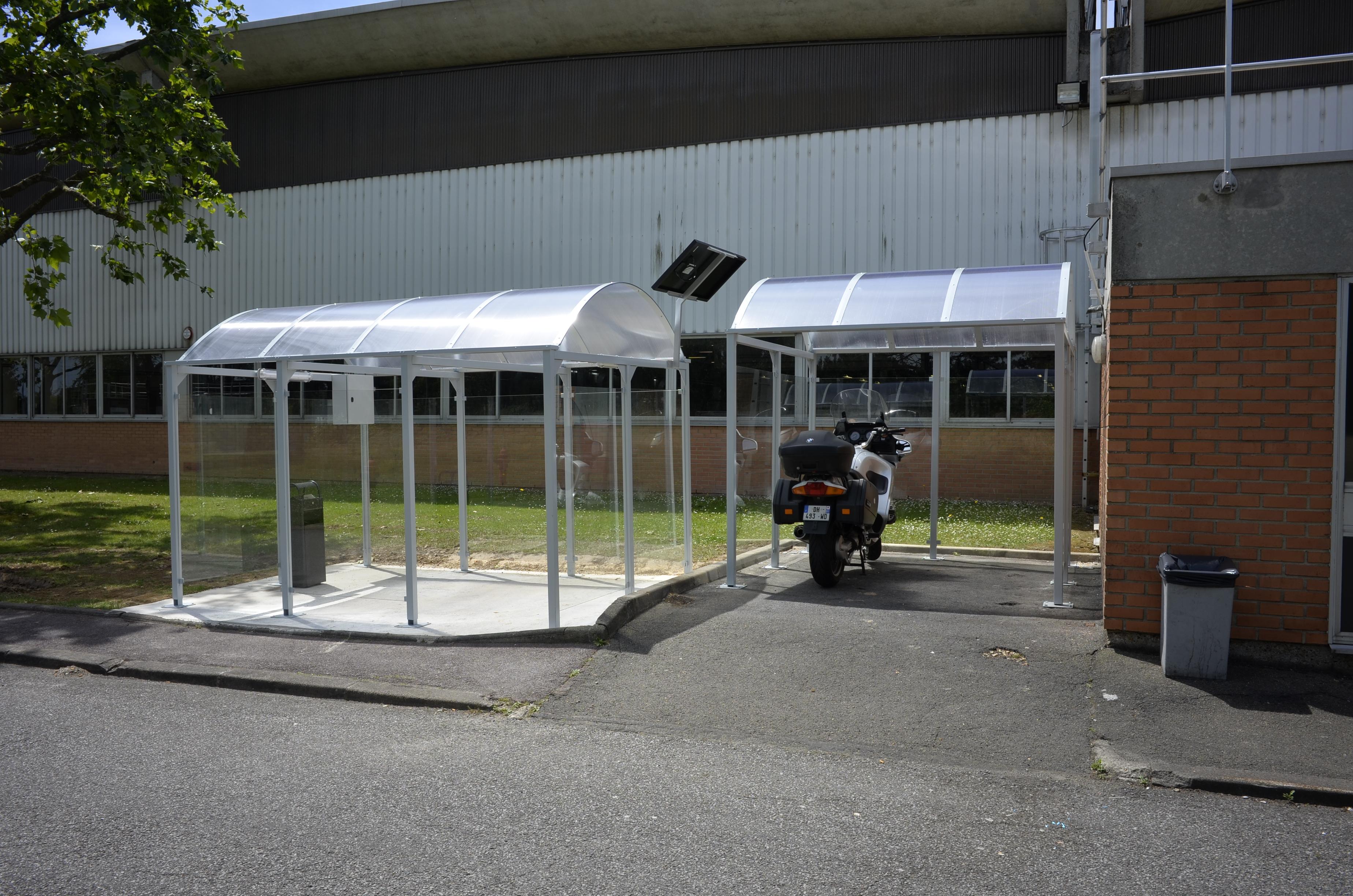 Abri Vélo Pas Cher installation d'un abri mixte : abri deux roues et abri